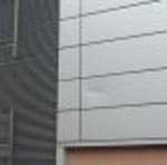 Damaged composite cladding
